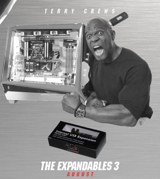 Terry Crews And His PC Are Perfect For Photoshop. (8)