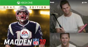 Tom Brady Madden Cover video.