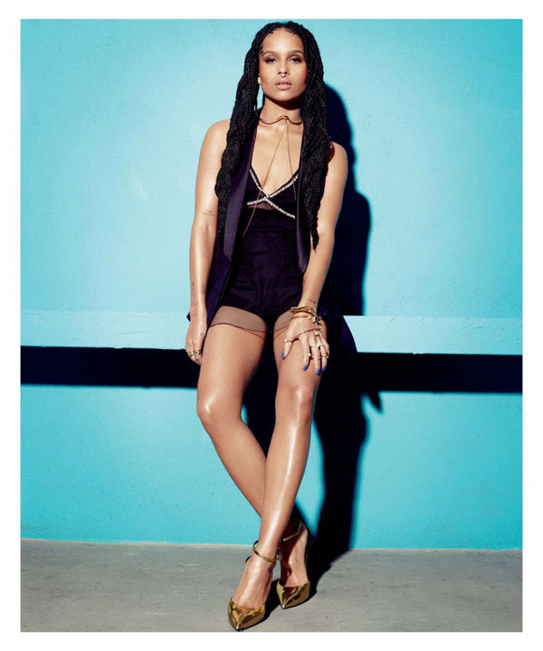 Zoe Kravitz sexiest pictures from her hottest photo shoots. (15)