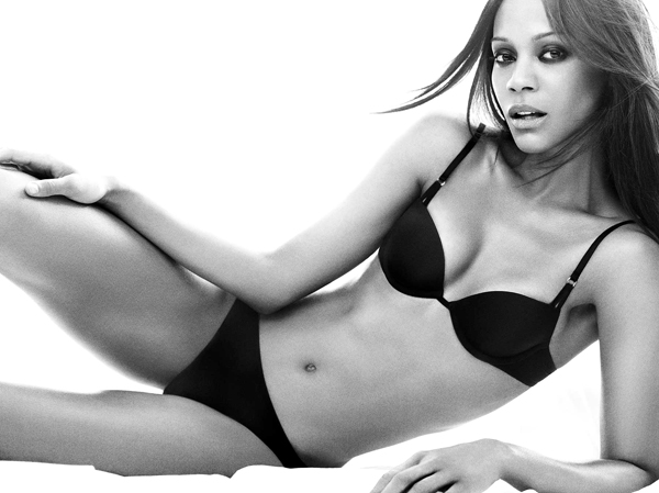 Think, what Zoe Saldana naked confirm