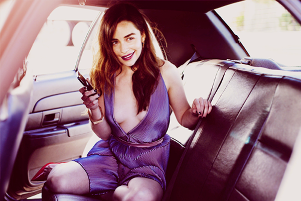 Emilia Clarke sexiest pictures from her hottest photo shoots. (31)