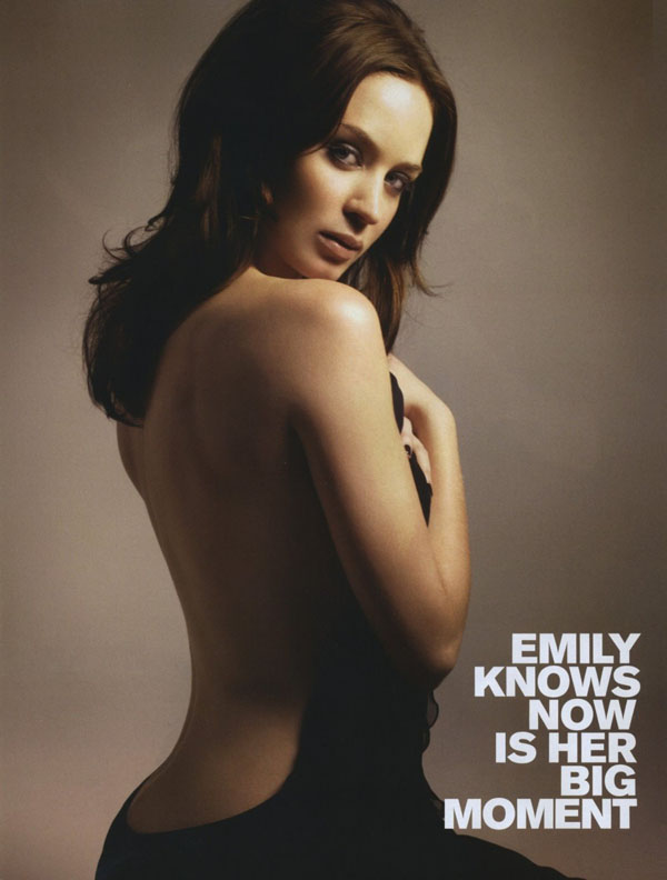 Emily Blunt sexiest pictures from her hottest photo shoots. (20)