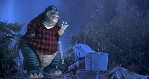 Jurassic Park Scenes Mashed With the 90s TV Show 'Dinosaurs'. (8)