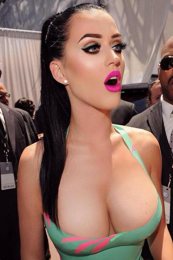 Katy Perry sexiest pictures from then (older) and now (current). (48)