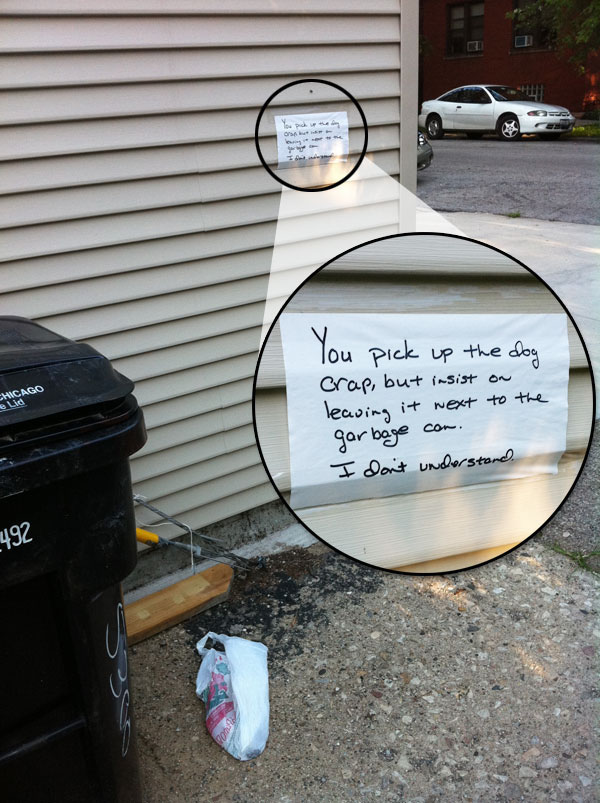 Funny notes left by neighbors. (30)