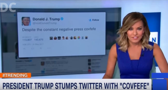 Reporters Failing To Pronounce 'Covfefe' video.