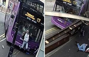 Sauce Monster Gets Smashed By Double Decker Bus Then Cooly Walks Into Bar. (3)