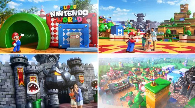 Super Nintendo World Them Park at Universal Studios photos. (2)