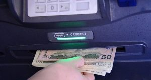 ATM Money and Keypads bacteria.