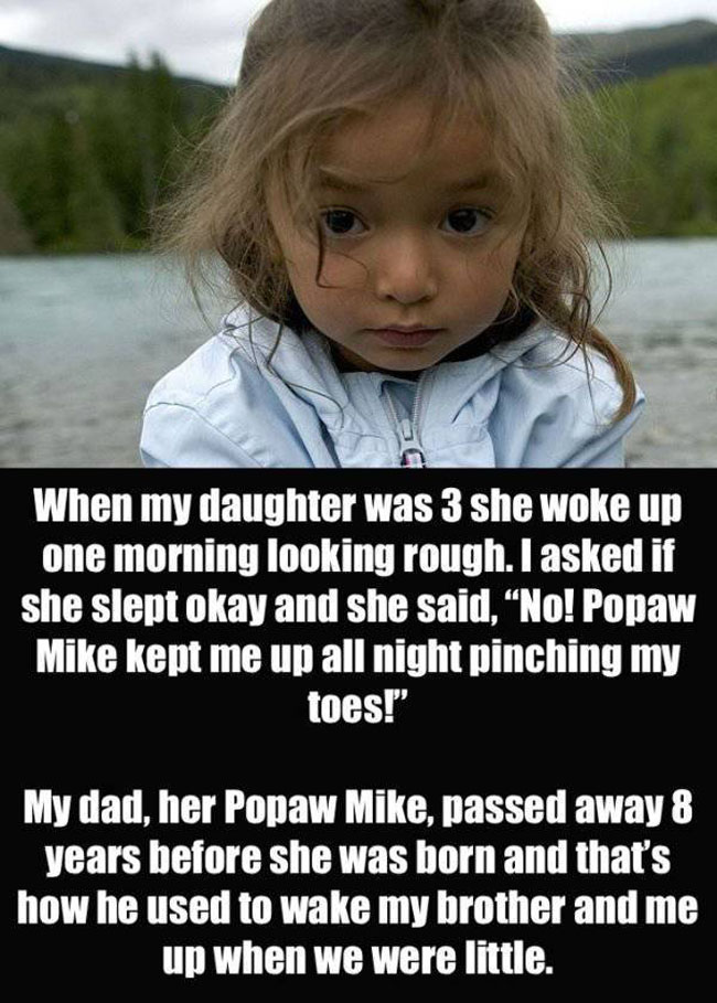 Parents Confess The Creepiest Thing Their Kids Have Said. (8)