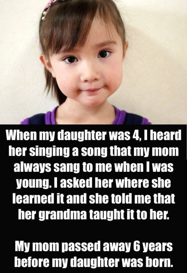 Parents Confess The Creepiest Thing Their Kids Have Said. (6)