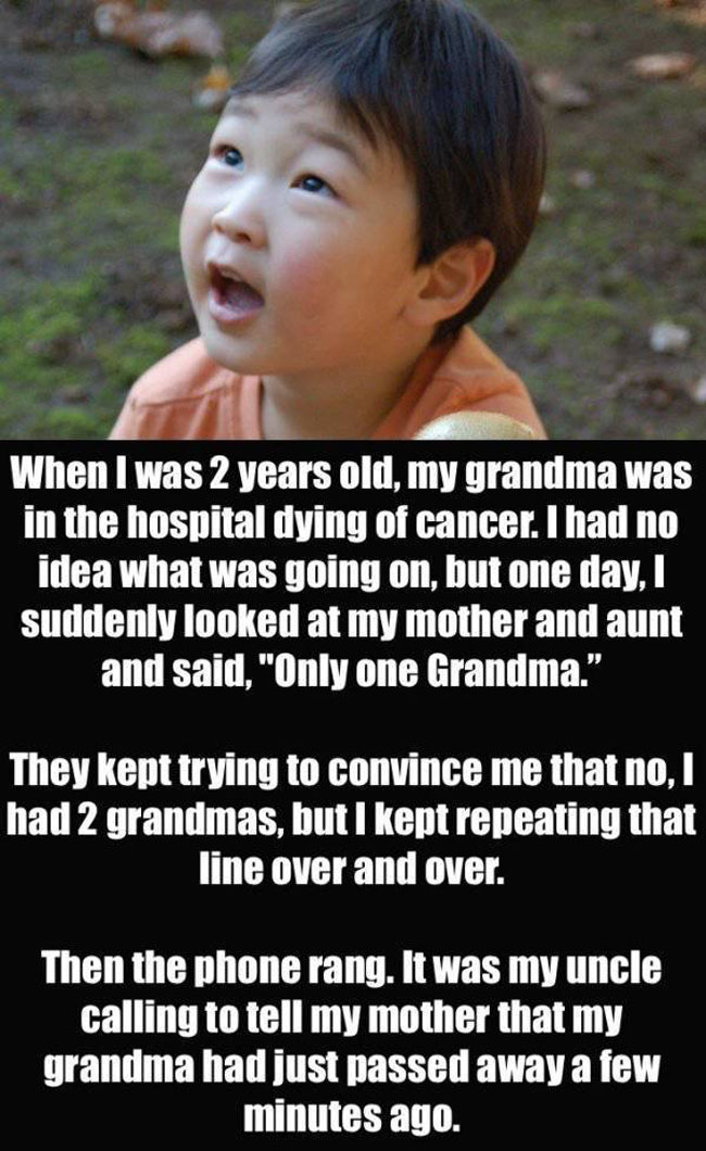 Parents Confess The Creepiest Thing Their Kids Have Said. (4)