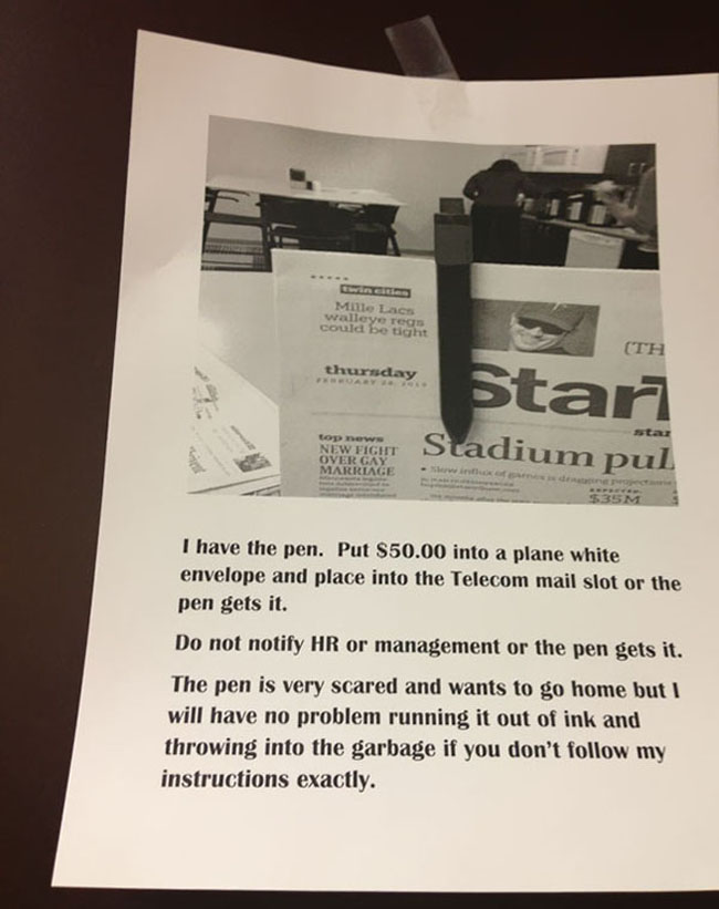 Funny passive aggressive office notes. (24)