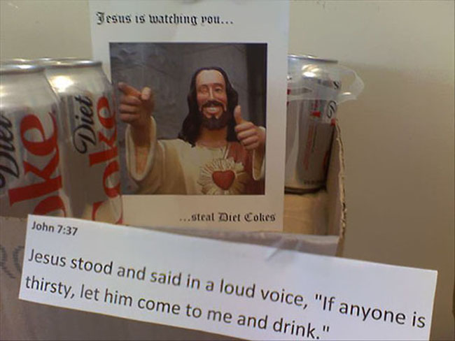 Funny passive aggressive office notes. (15)