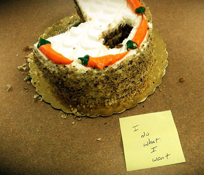 Funny passive aggressive office notes. (12)