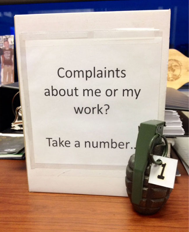 Funny passive aggressive office notes. (7)