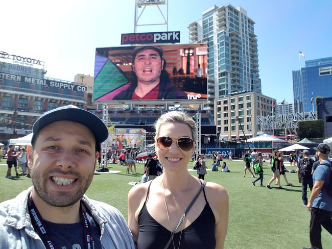 Impractical Jokers block party at Comic-Con in San Diego. (2)