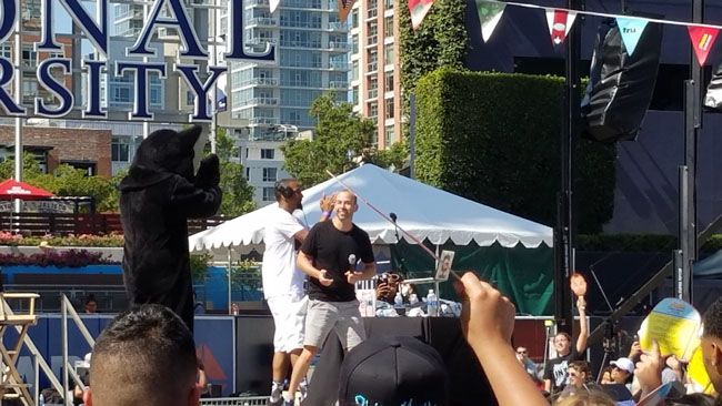 Impractical Jokers block party at Comic-Con in San Diego. (4)
