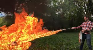 This Guy's Tutorials All End With Him Hilariously Blowing Things Up (Video.)