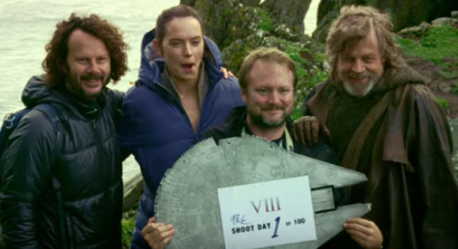 'Star Wars: The Last Jedi' Behind The Scenes Footage (Video.) (1)