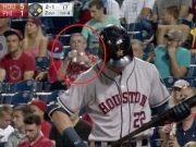Sauce Monster Grandfather Double Fists Beers Throughout Entire Astros-Phillies Game.