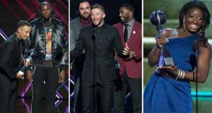 ESPYs 2017 Winners (Full List).