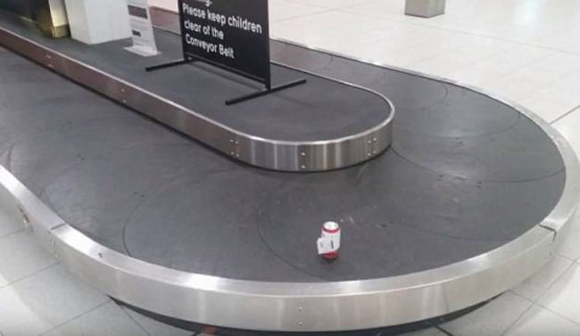 Sauce Monster Checks In Can of Beer And the Airport Shipped It! (1)