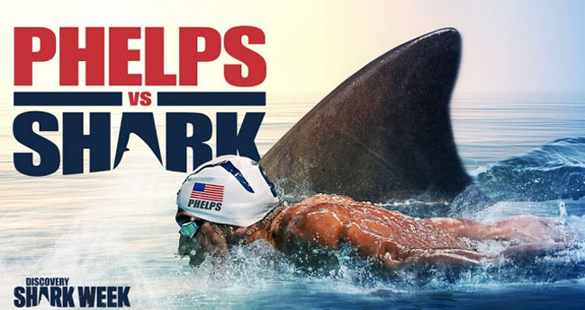Shark Week's'Phelps vs Shark' Was a Complete Sham and People Are Pissed.
