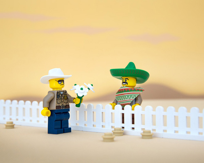 State stereotypes in LEGO form. (49)
