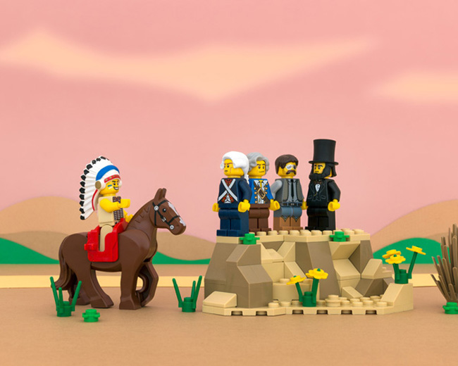 State stereotypes in LEGO form. (10)