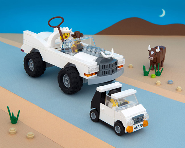 State stereotypes in LEGO form. (8)