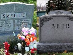 Funny names on tombstones pictures. (42)