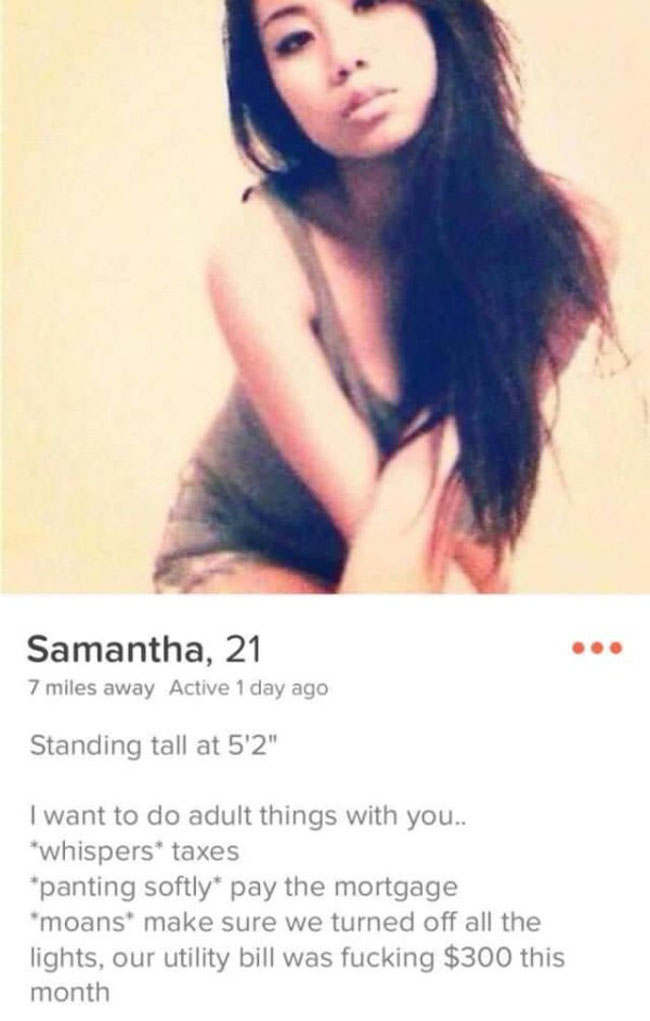 Really Funny Tinder Accounts. (24)