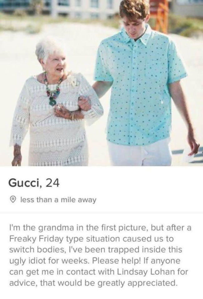 Really Funny Tinder Accounts. (23)