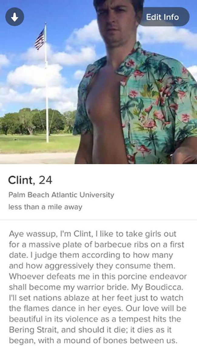 Really Funny Tinder Accounts. (11)