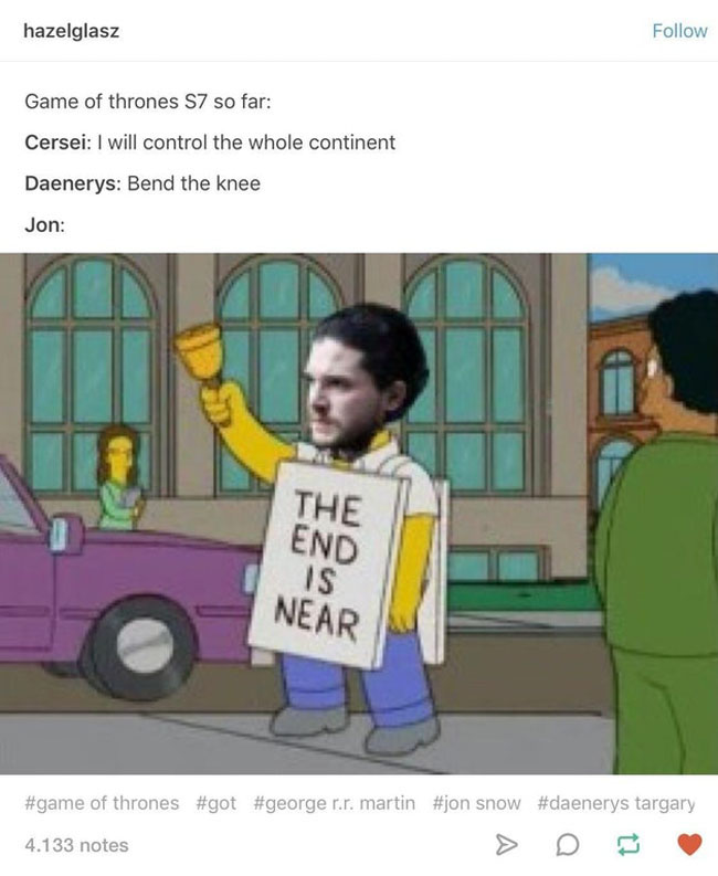 Game of thrones season 7 memes. (7)