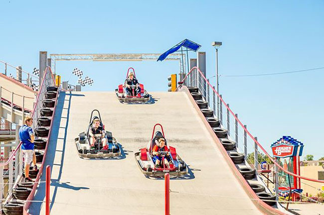 Mario Kart Go Kart Track in New York. (2)