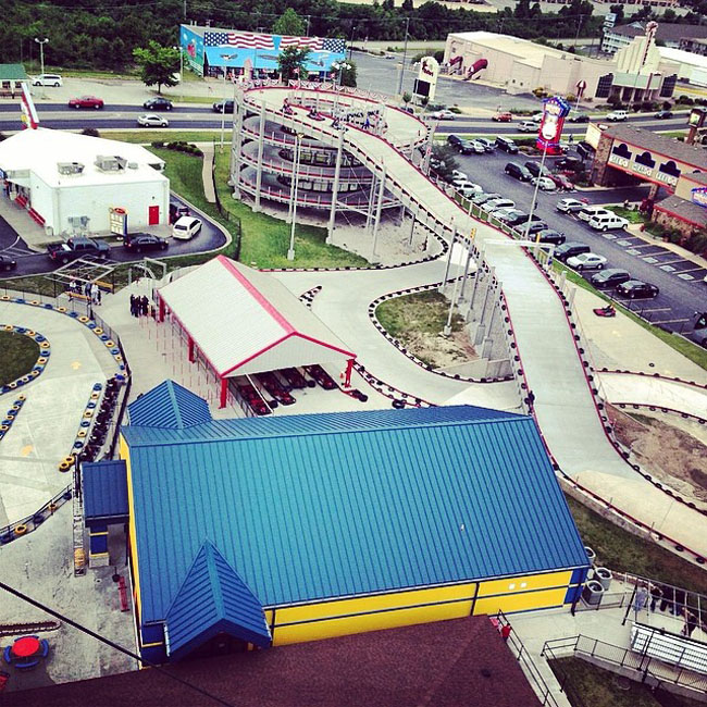 Mario Kart Go Kart Track in New York. (3)