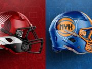NBA Logos on Football Helmets. (55)