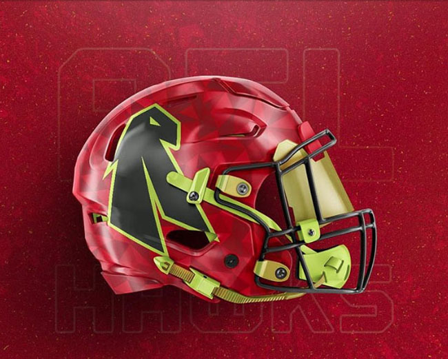 NBA Logos on Football Helmets. (54)