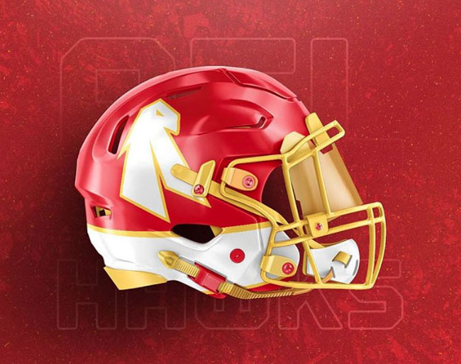 NBA Logos on Football Helmets. (52)