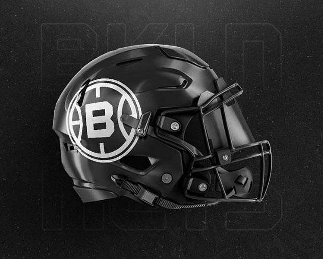NBA Logos on Football Helmets. (51)