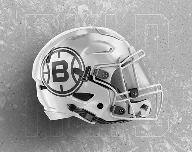 NBA Logos on Football Helmets. (50)