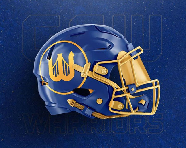 NBA Logos on Football Helmets. (45)