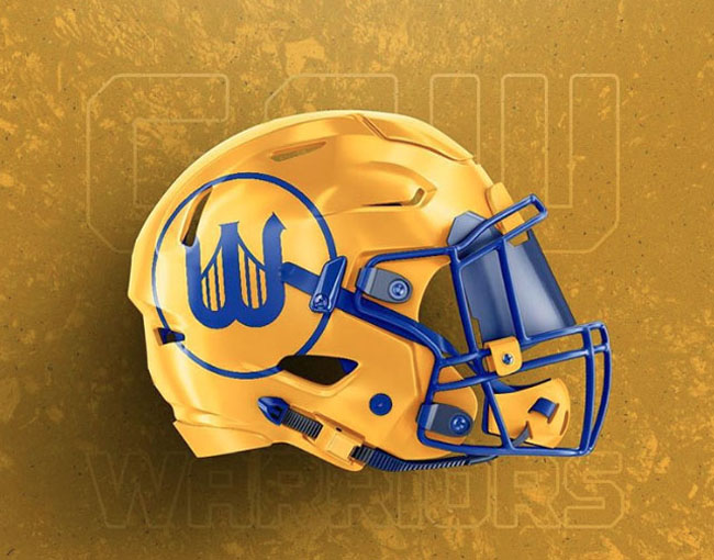NBA Logos on Football Helmets. (44)