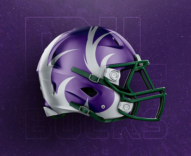 NBA Logos on Football Helmets. (31)