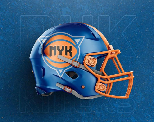 NBA Logos on Football Helmets. (27)