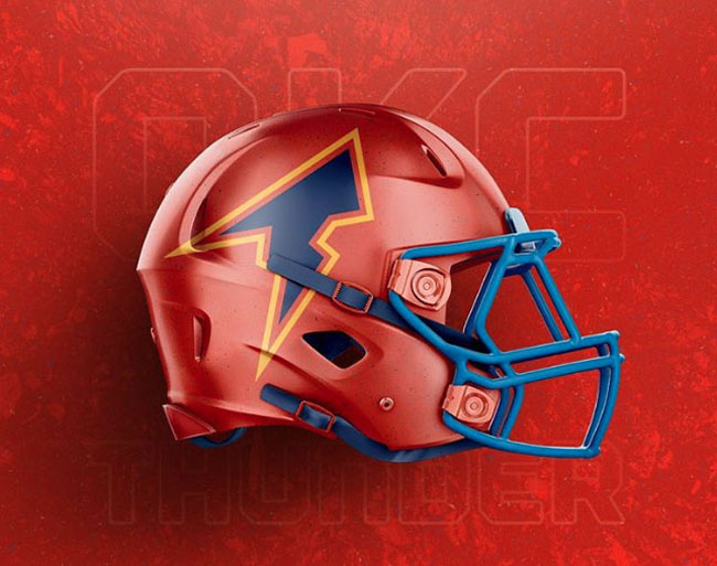 NBA Logos on Football Helmets. (22)