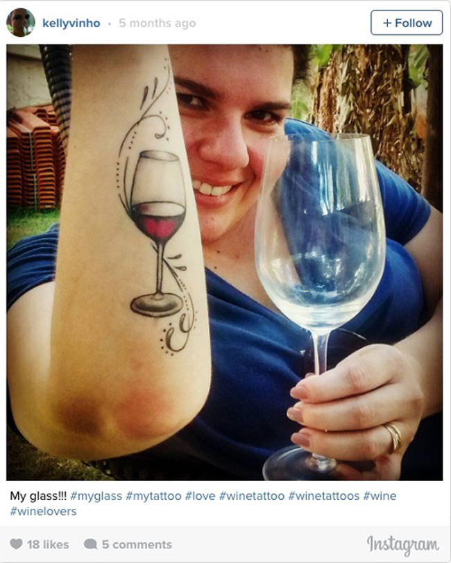Wine tattoos. (12)