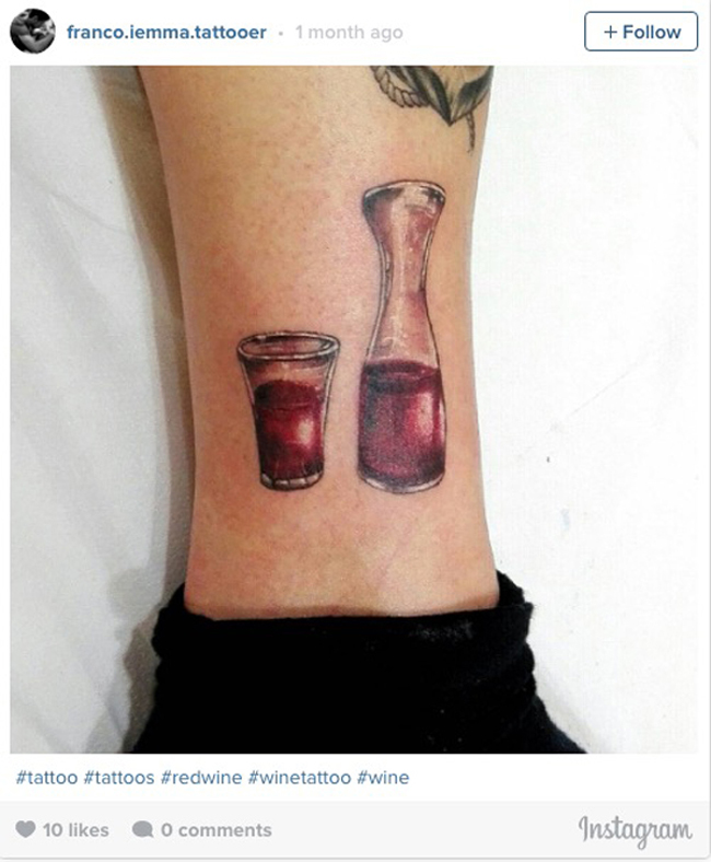 Wine tattoos. (7)